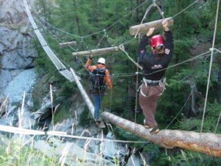 Klettersteig Wallis : Bergerlebnisse mit bergführer & schneesportfüher roberto arnold